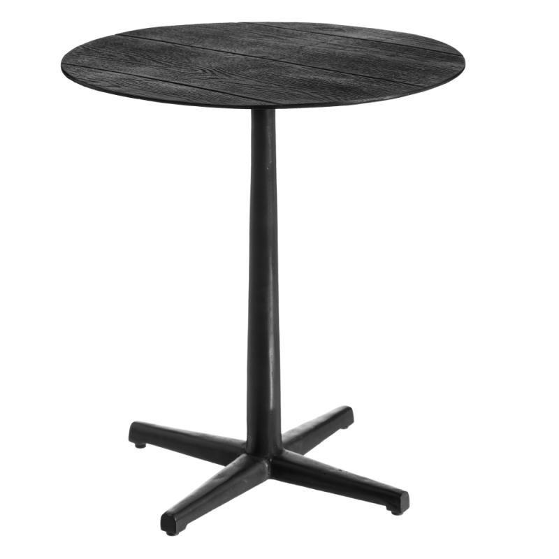 Table d'appoint ronde Noir Métal Taille M - ZOTA