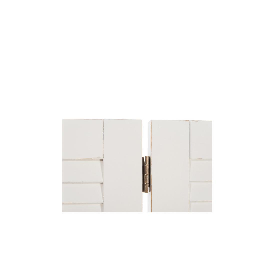 t te de lit blanc boudebois univers de chambre tousmesmeubles. Black Bedroom Furniture Sets. Home Design Ideas