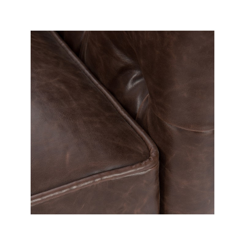 Canap chesterfield 2 places simili cuir boston univers - Canape 2 places simili cuir ...