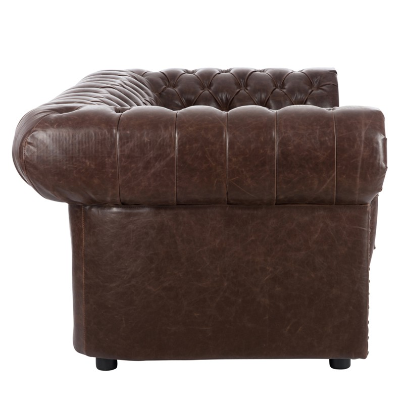 Canap chesterfield convertible 2 places id e inspirante pour la conception de la - Canape 2 places simili cuir ...