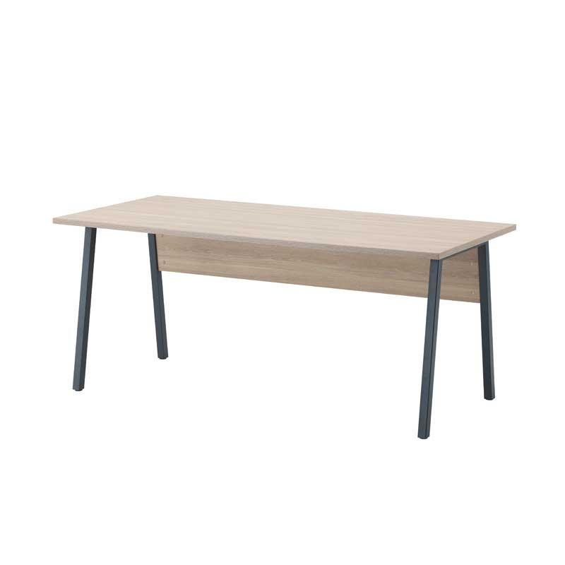 Bureau 180 cm Chêne clair - ISAURE