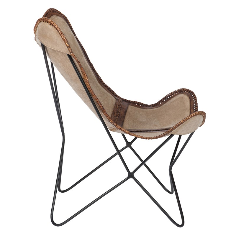 chaise lounge cuir beige marron jolly univers du salon tousmesmeubles