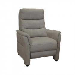 Fauteuil Relax Electrique Tissu brun - RUSSIA