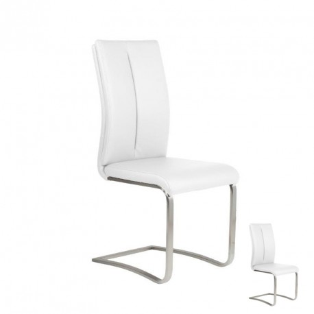 Duo de chaises Blanches - JULY