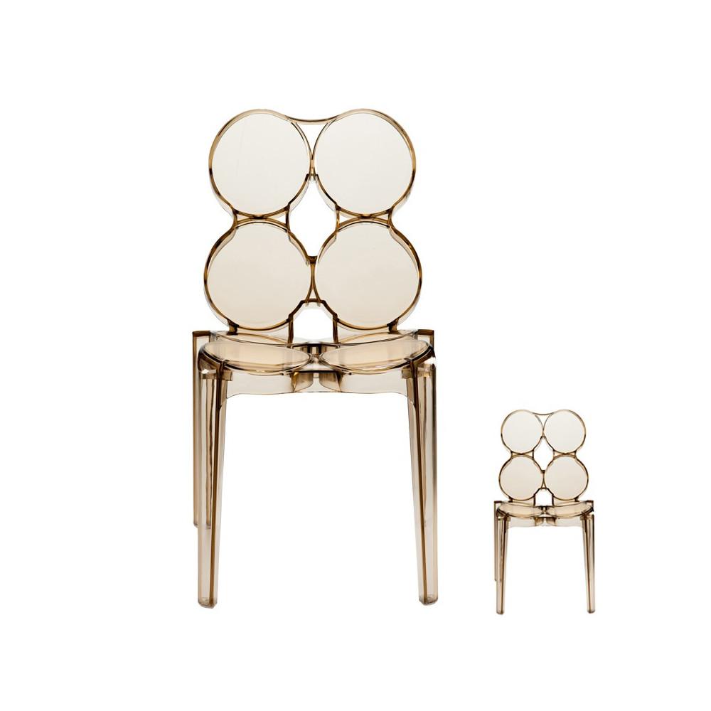 Duo de chaises Ambre - JELLY