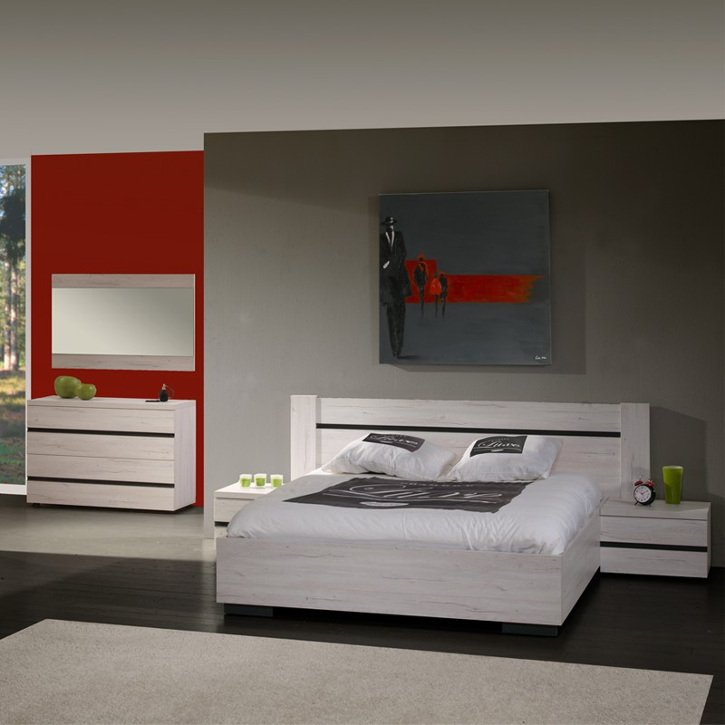commode 3 tiroirs mara ch ne c rus univers chambre. Black Bedroom Furniture Sets. Home Design Ideas
