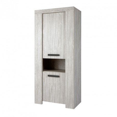 armoire de salon 2 portes 1 niche jacco univers de la. Black Bedroom Furniture Sets. Home Design Ideas