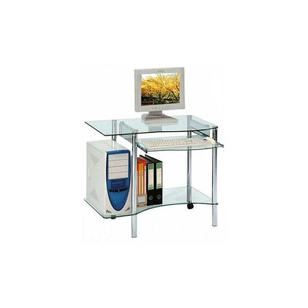 Bureau informatique en verre - PIC