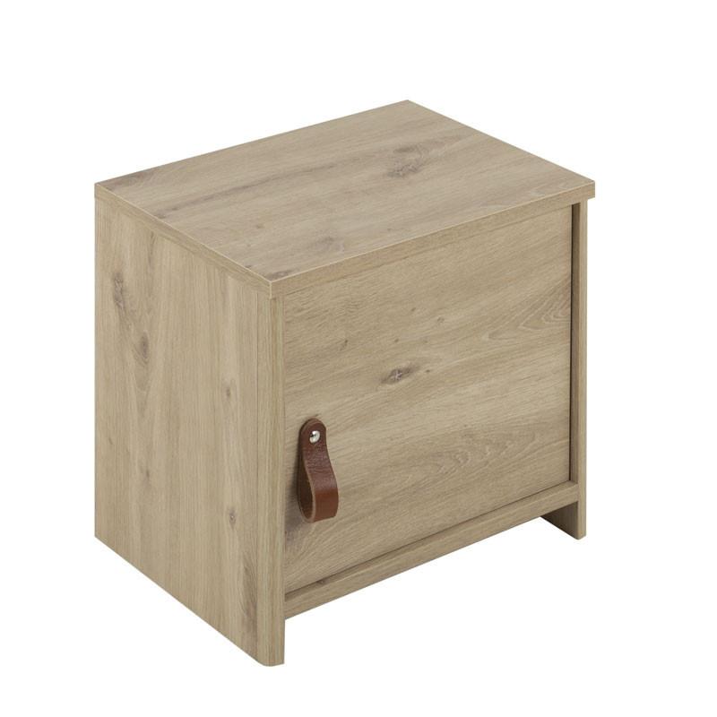 Table de chevet 1 porte Chêne - ESTHER