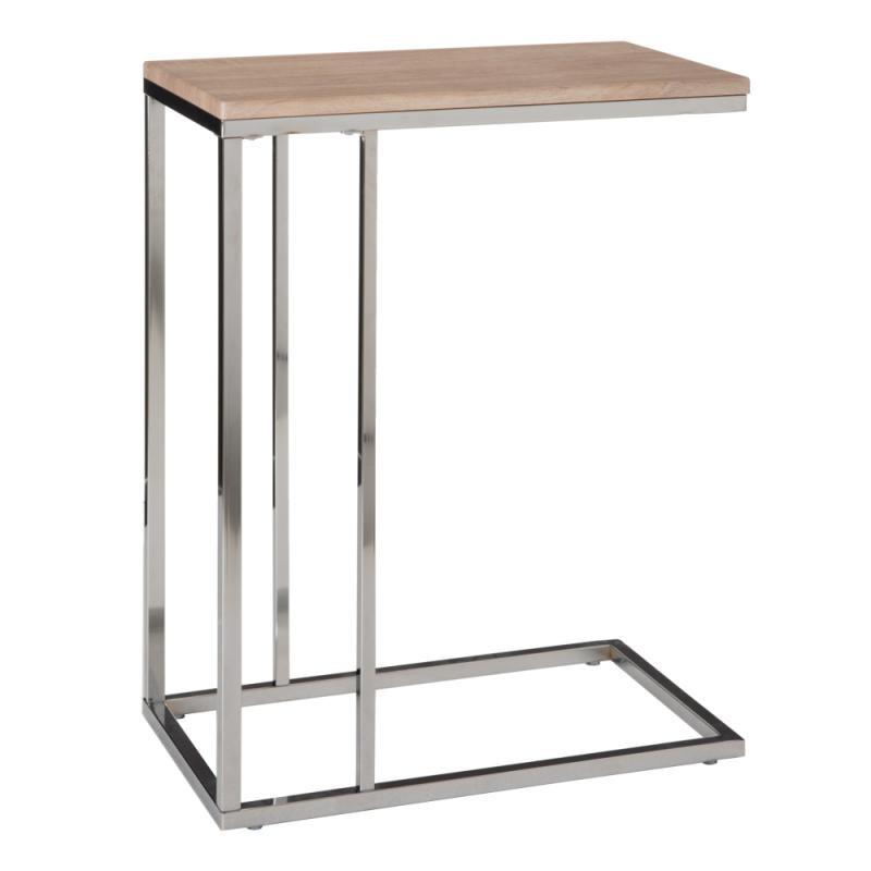 Table bout de canapé Bois/Métal - ELICANE