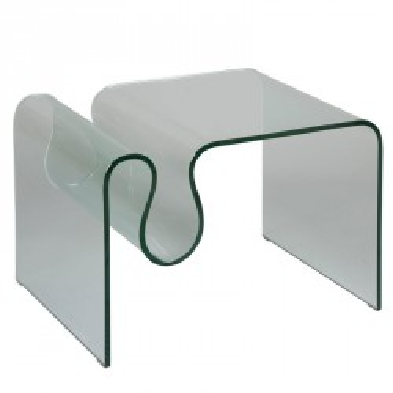 Porte-revues en verre - CLEAN