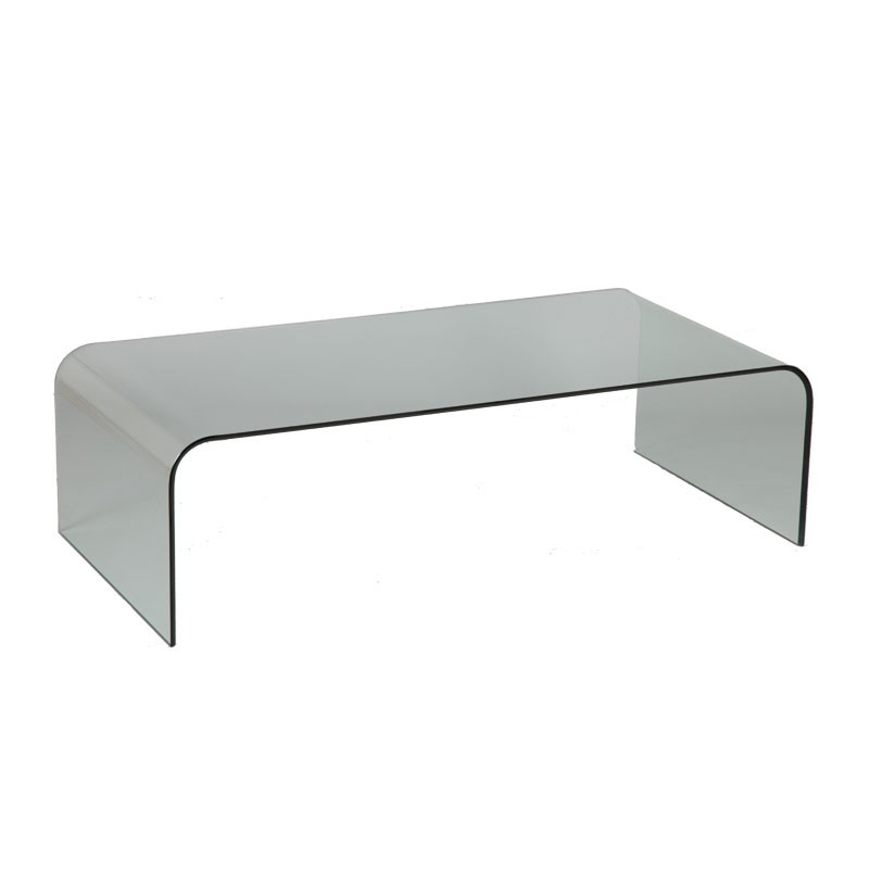Table basse bar en verre for Tables basses de salon en verre