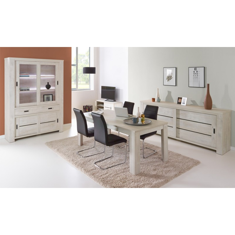 salle manger compl te oji univers de la salle manger tousmesmeubles. Black Bedroom Furniture Sets. Home Design Ideas