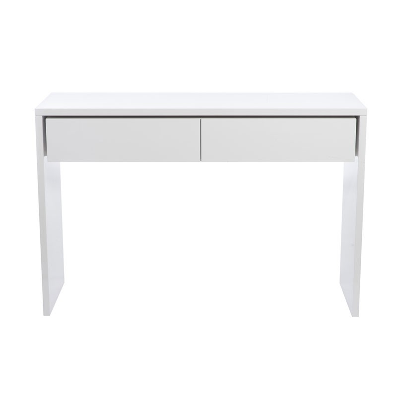 Console ikea blanc laqu sammlung von for Table blanc laque ikea