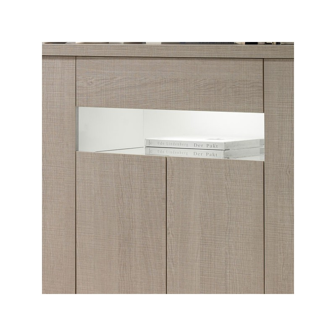 Buffet 4 portes 1 tiroir ch ne clair botekia salle manger mesmeubles - Buffet en chene clair ...