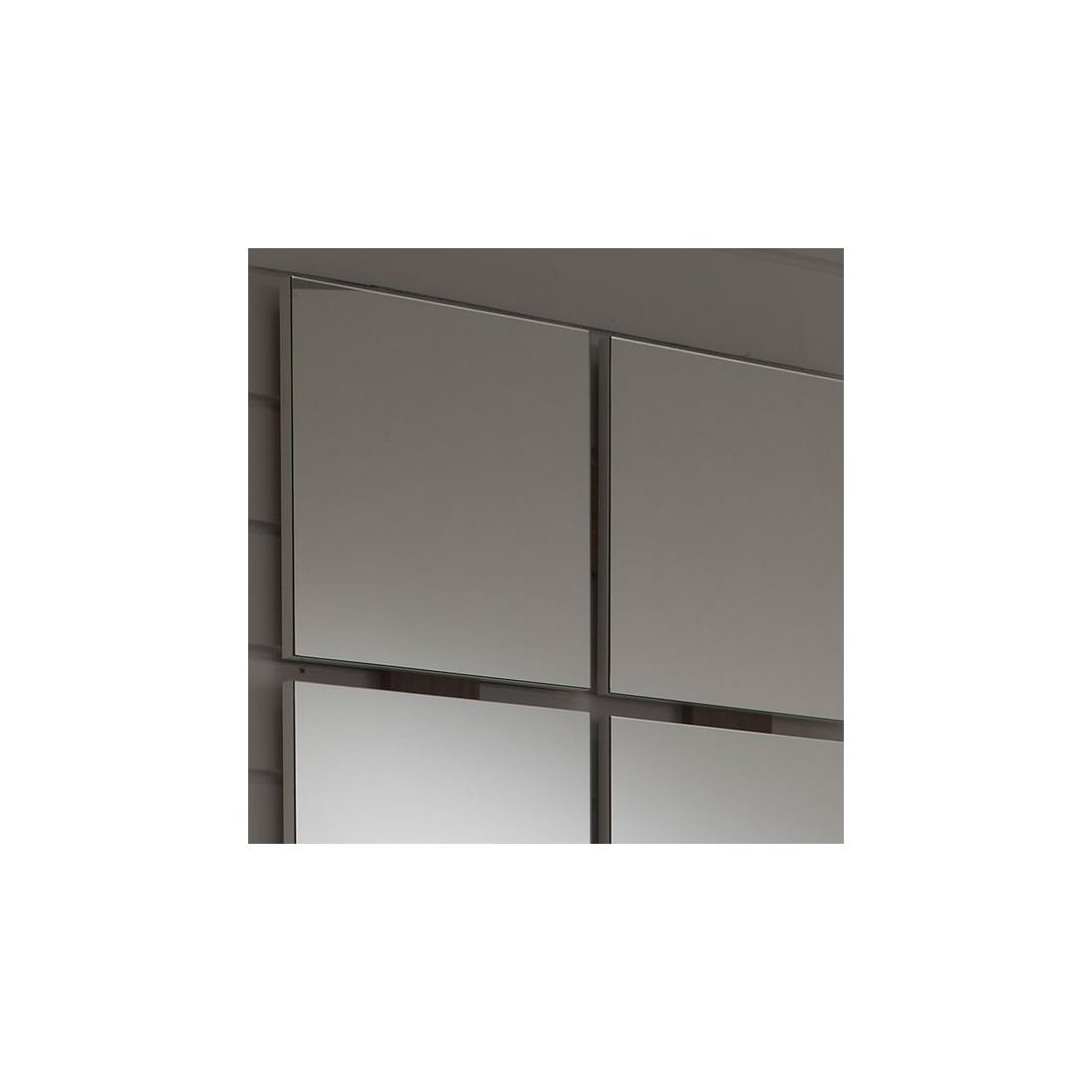 meuble d 39 entr e blanc noyer miroir nave univers petits meubles. Black Bedroom Furniture Sets. Home Design Ideas