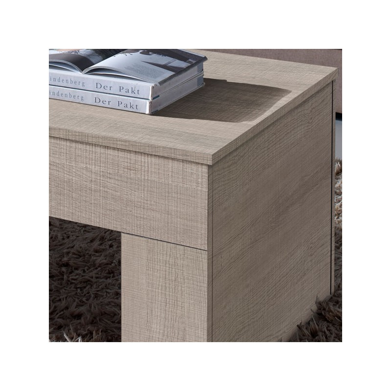 Table basse ch ne clair relevable moly univers salon for Table basse chene clair