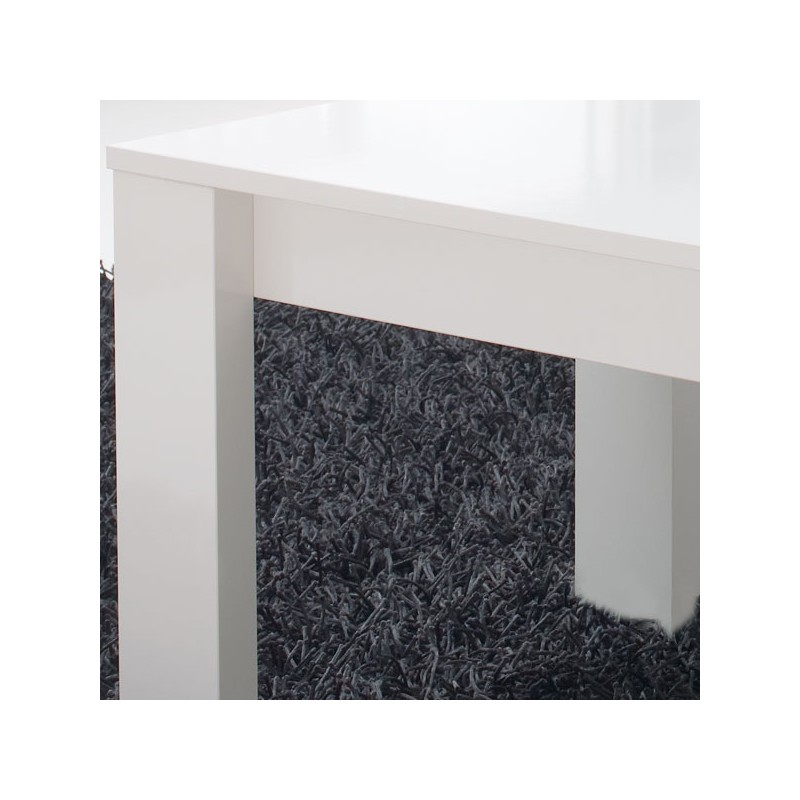 Table basse relevable blanche moderne n 1 malia univers du salon - Table basse blanche moderne ...