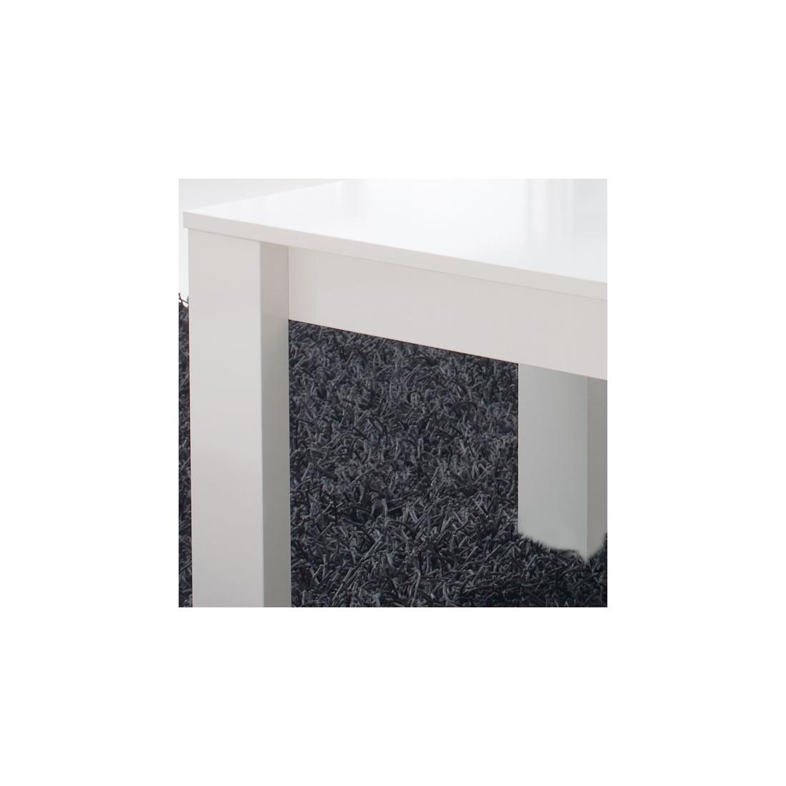 Table basse relevable blanche moderne n 1 malia univers - Table basse blanche relevable ...