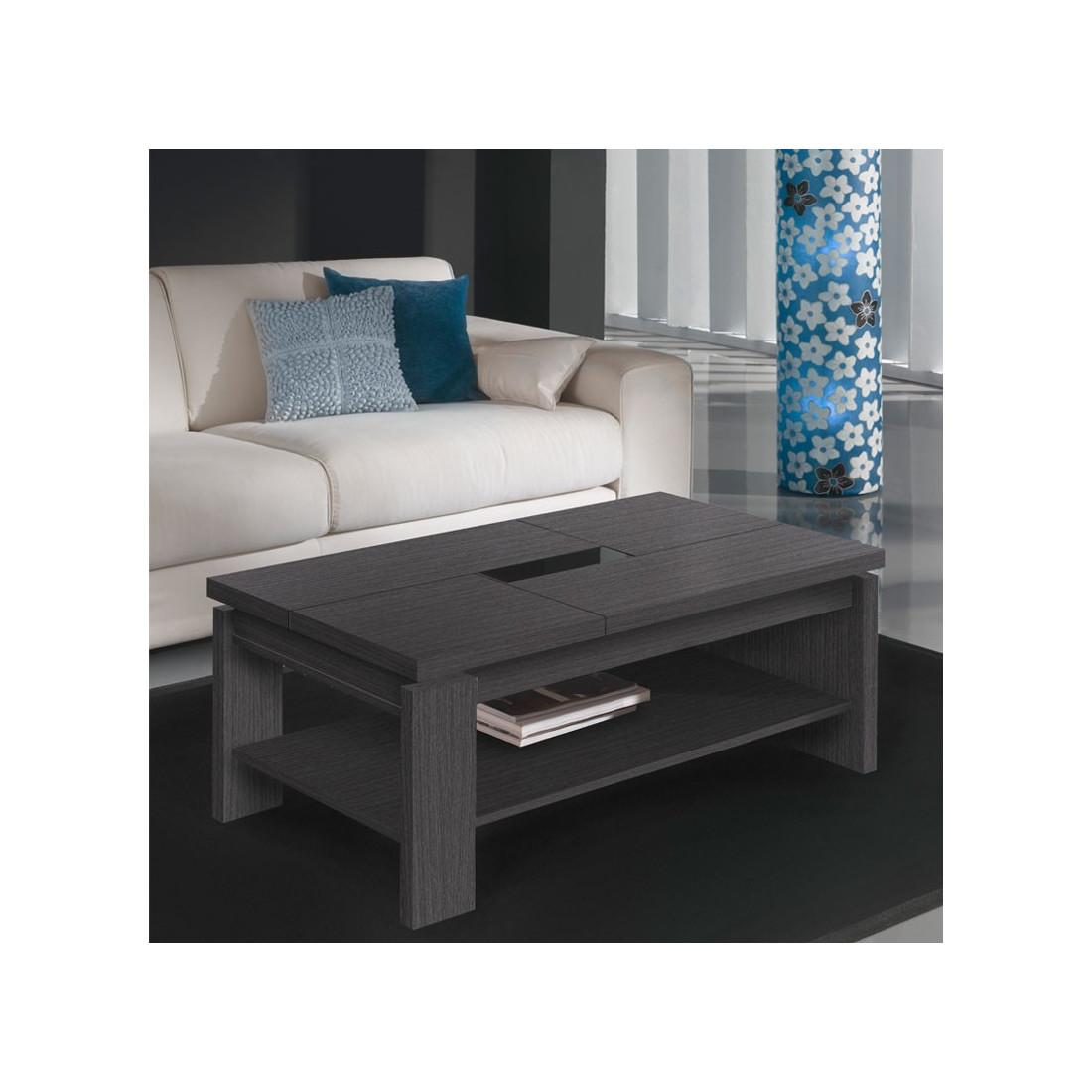 table basse relevable cendre lilau univers du salon. Black Bedroom Furniture Sets. Home Design Ideas