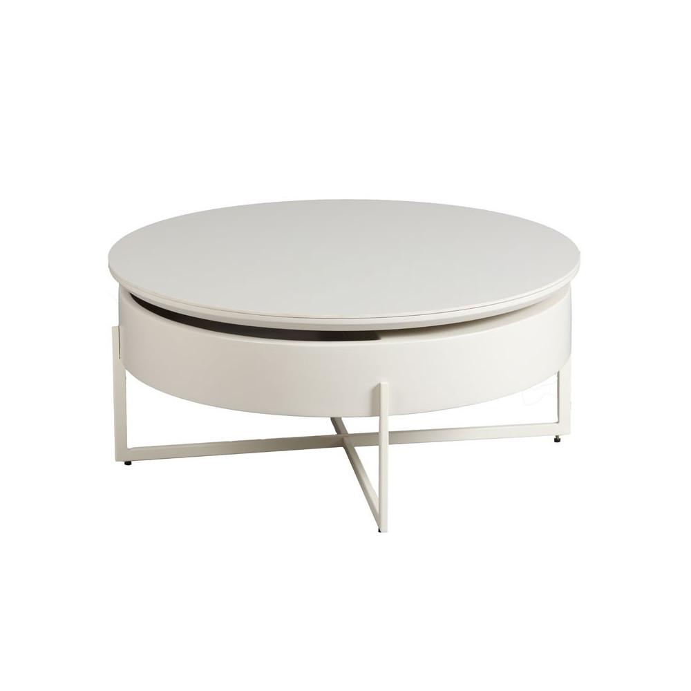 table basse acier bois c ramique ronda univers salon. Black Bedroom Furniture Sets. Home Design Ideas
