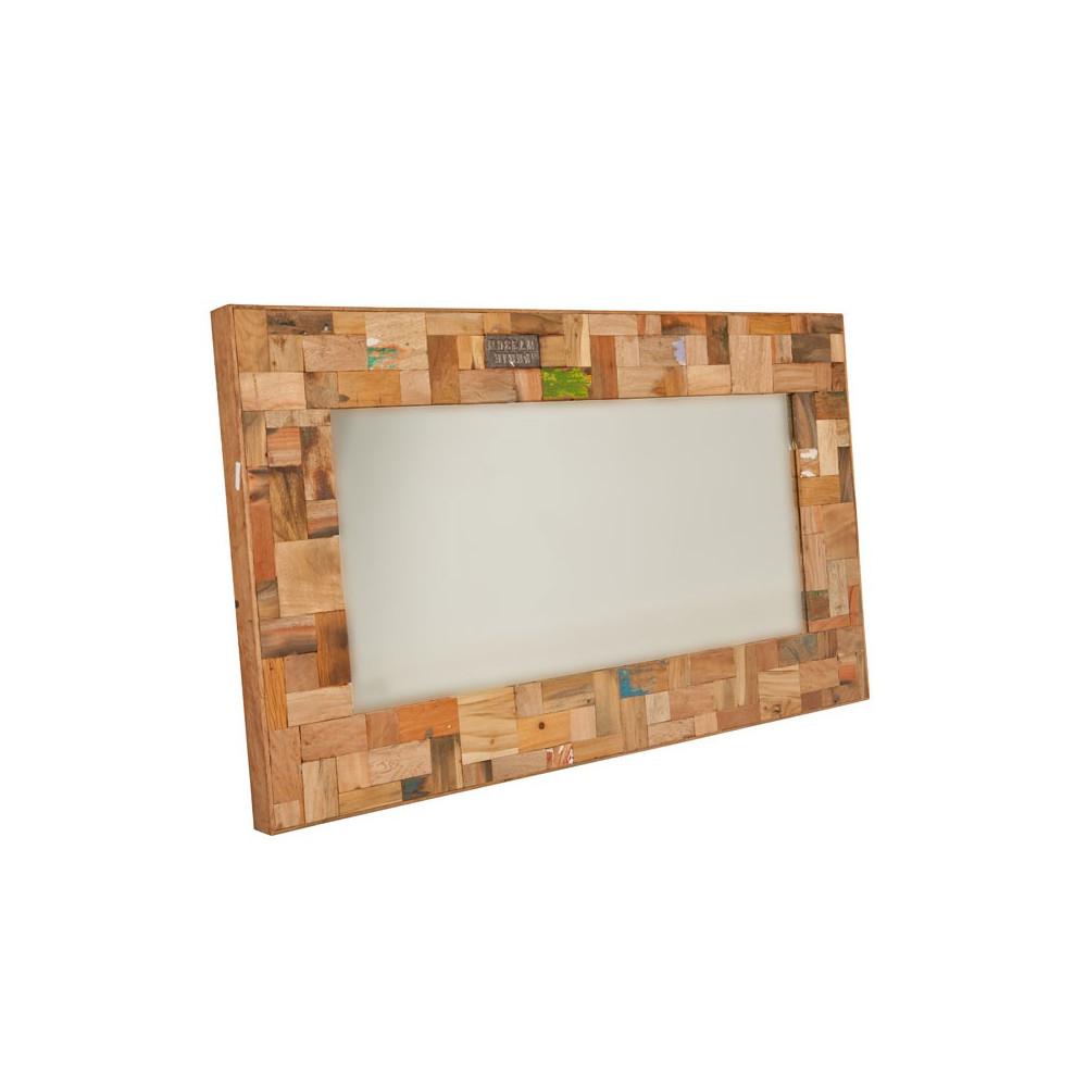 miroir 120 cm industry univers d coration tousmesmeubles. Black Bedroom Furniture Sets. Home Design Ideas