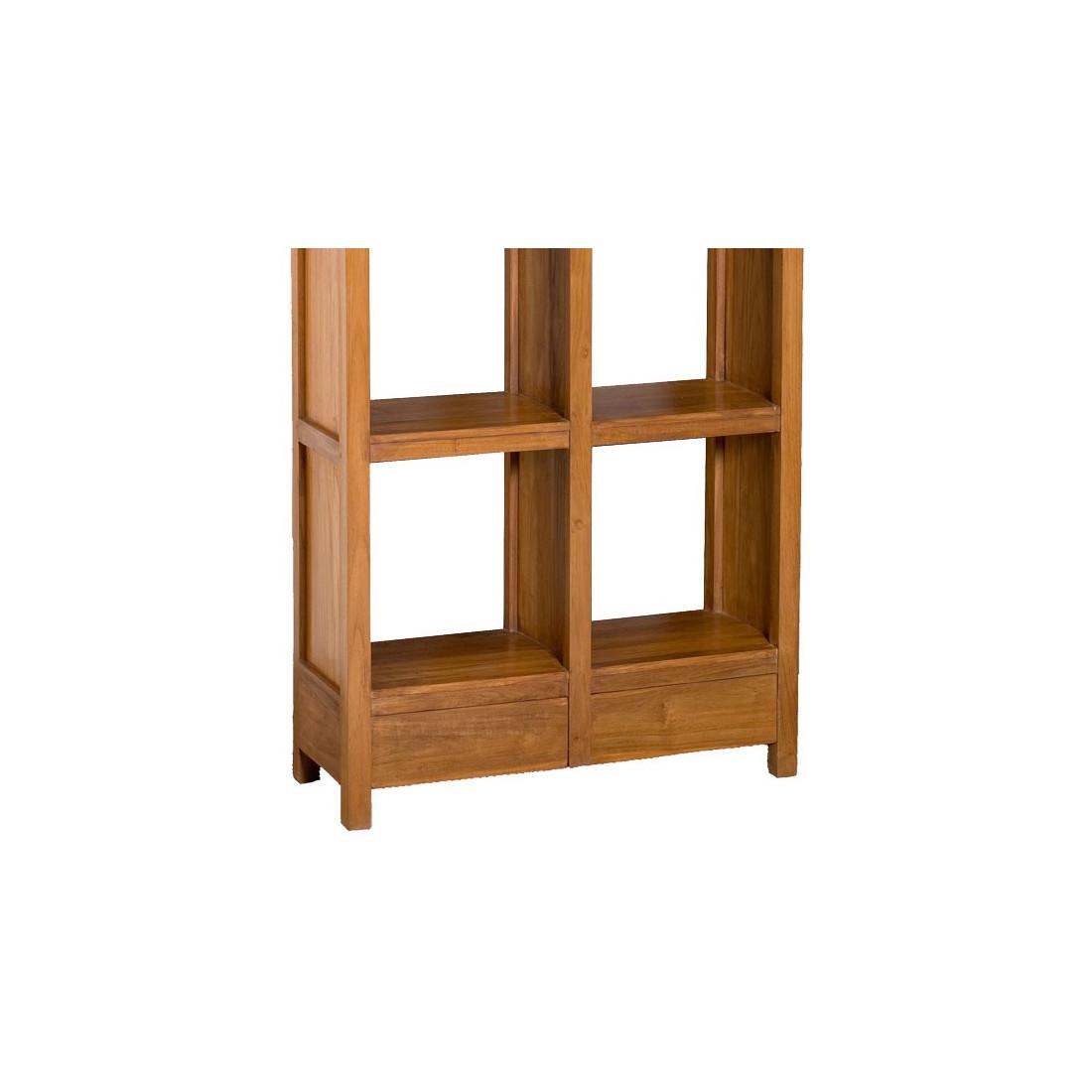etag re 8 cases 2 tiroirs pias univers petits meubles. Black Bedroom Furniture Sets. Home Design Ideas