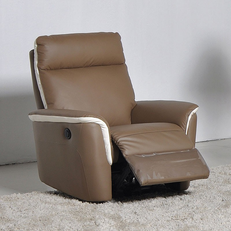 Canap 3p relax cuir fauteuil relax lec romy univers du salon tousmesm - Canape relax cuir but ...