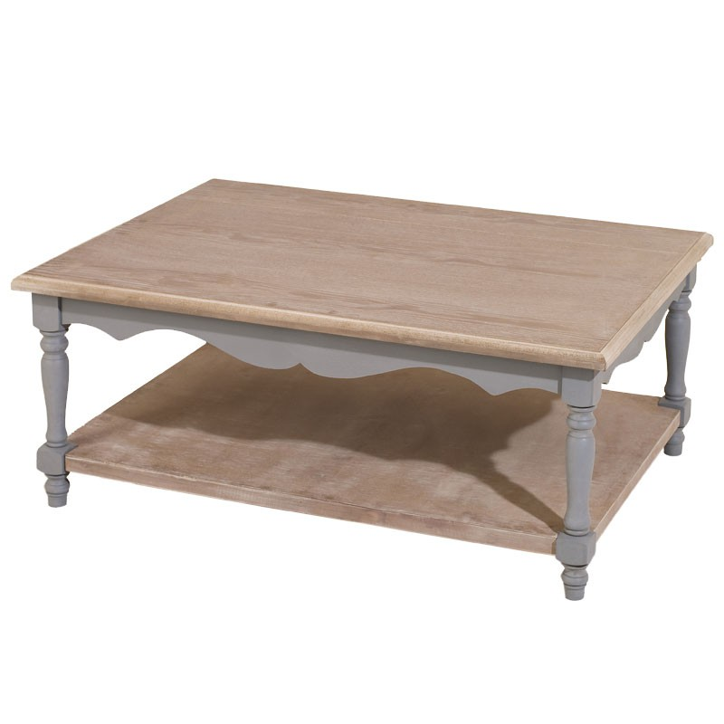 Table basse double plateau cassis univers du salon - Table basse double plateau bois ...