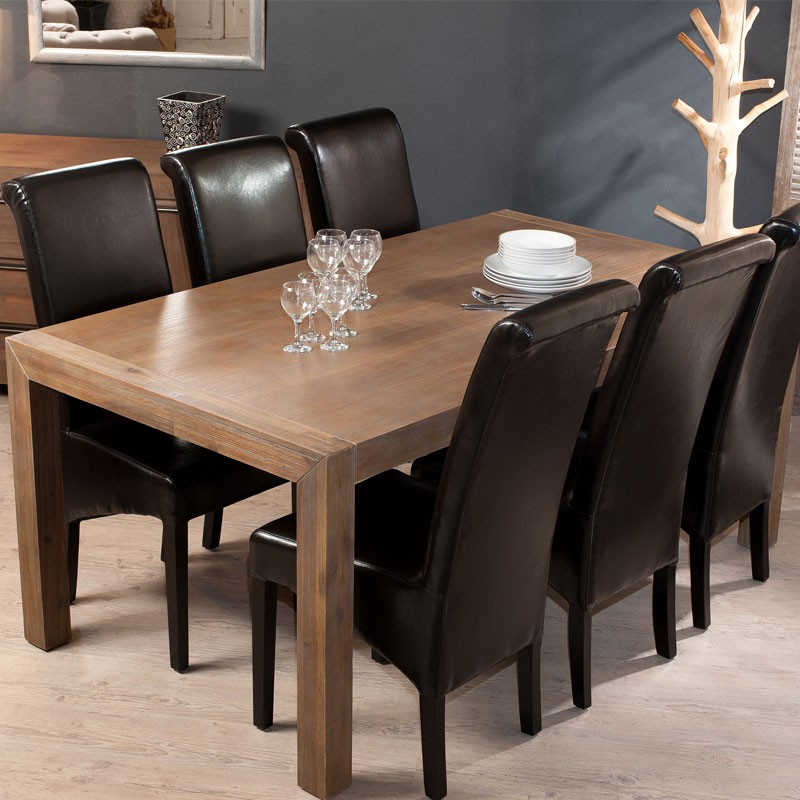 table de repas allonge ramos univers salle manger. Black Bedroom Furniture Sets. Home Design Ideas