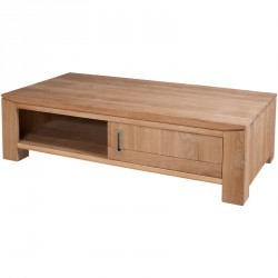 Table basse 2 portes coulissantes - DANY