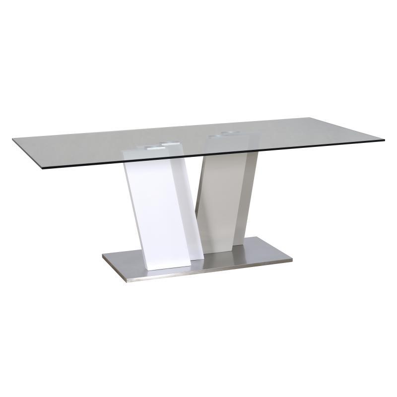 Table de repas Gris/Blanc PATTAYA