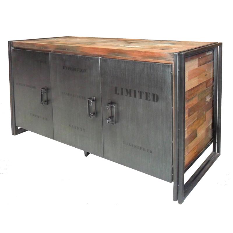 Buffet en bois 3 portes INDUSTRY