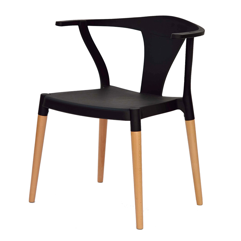 Quatuor de chaises Noires TARB