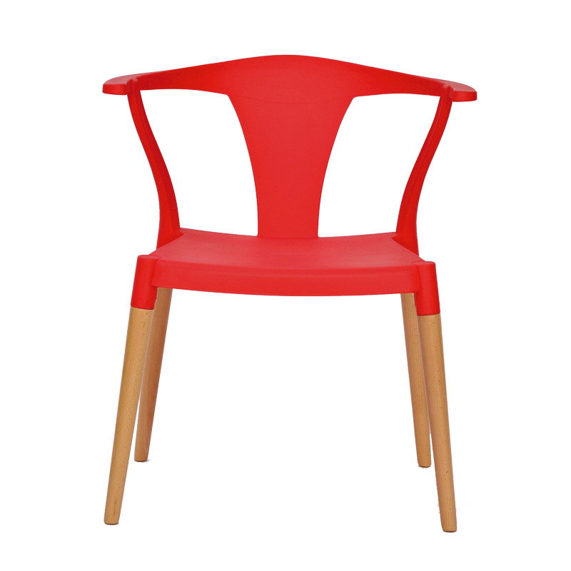 Quatuor de chaises Rouges TARB