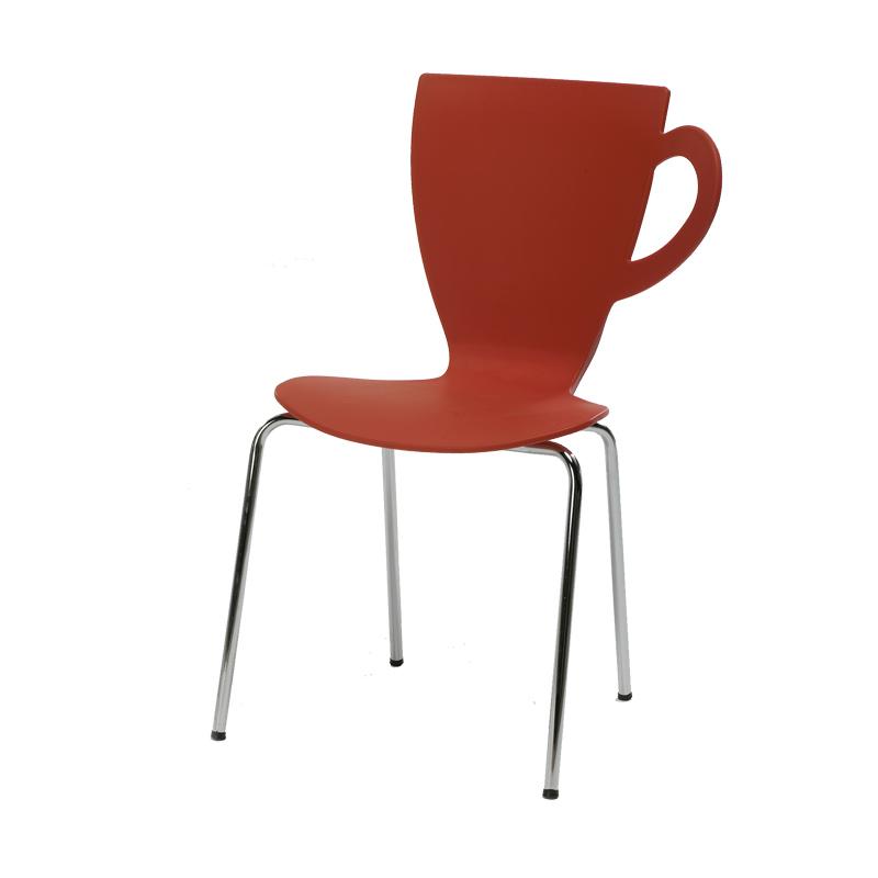 Quatuor de chaises Rouge MUG