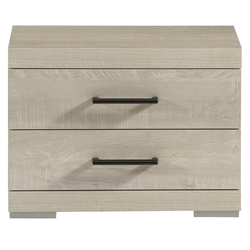 Table de chevet 2 tiroirs ETRA