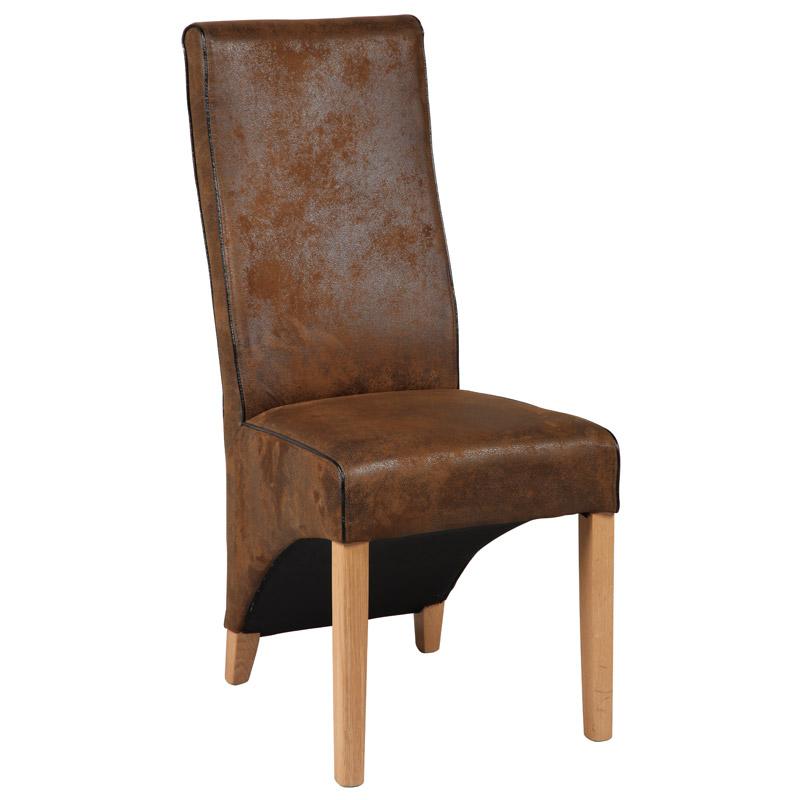 Duo de chaise BALI marrons
