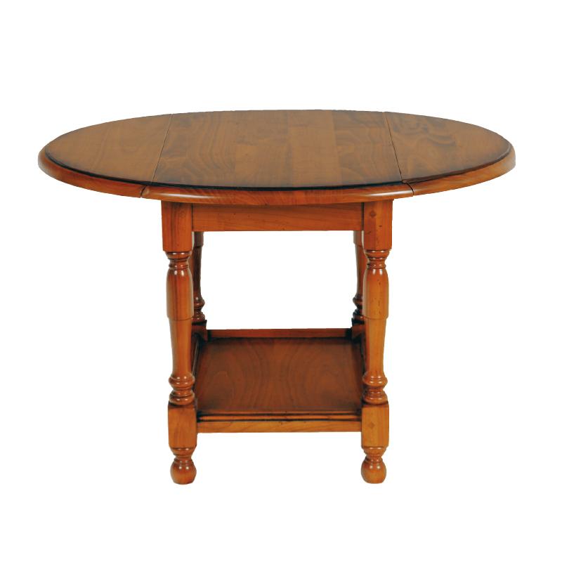 Petite table pliable en Merisier BERICHON