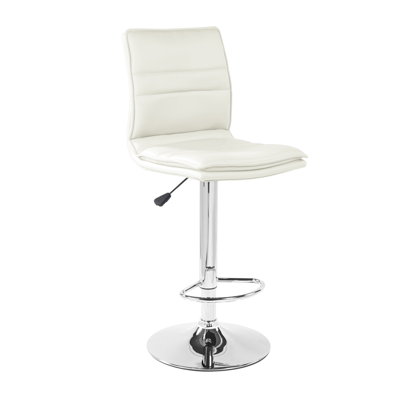 Tabouret de bar relevable Blanc INOS